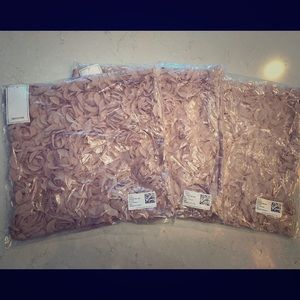 NWT: H&M Dusty Rose Pillow Covers - 2 available